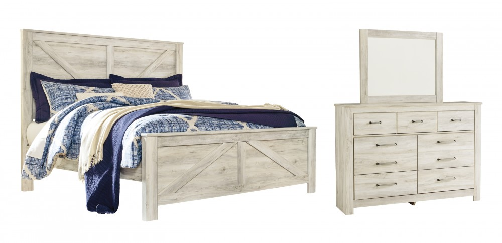 Bellaby King Crossbuck Panel Bed With Mirrored Dresser B331 B10 B1 Bedroom Groups Akins Furniture,United Airlines Baggage Policy Economy
