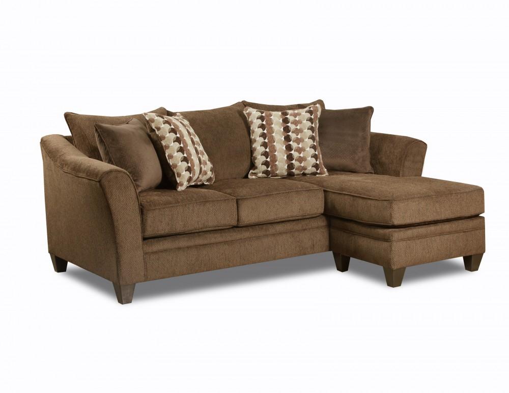 Albany Chestnut Sofa Chaise