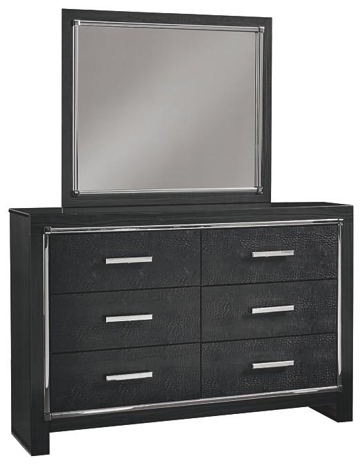 Kaydell - Dresser and Mirror