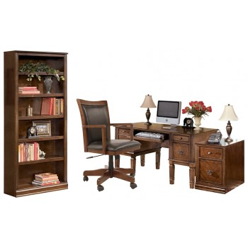 Hamlyn - Home Office Desk with Chair and Storage