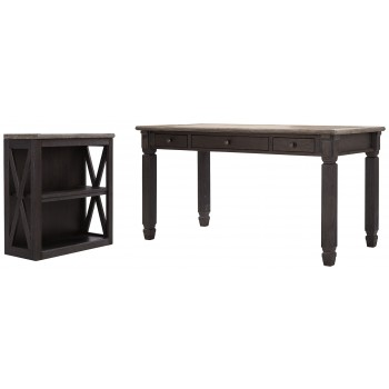 Tyler Creek - Home Office Desk and Storage