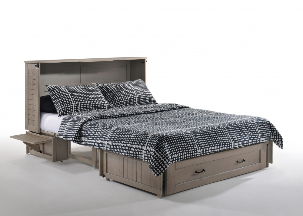 Murphy Bed  Poppy Brushed Driftwood