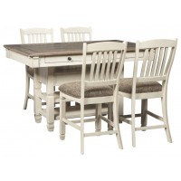 Bolanburg - Counter Height Dining Table and 4 Barstools