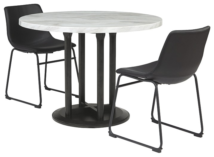 Centiar - Dining Table and 2 Chairs