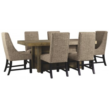Sommerford - 7-Piece Dining Room Package