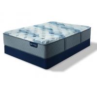 Blue Fusion 100 Firm Mattress Set (Queen) (Mattresses - Queen)