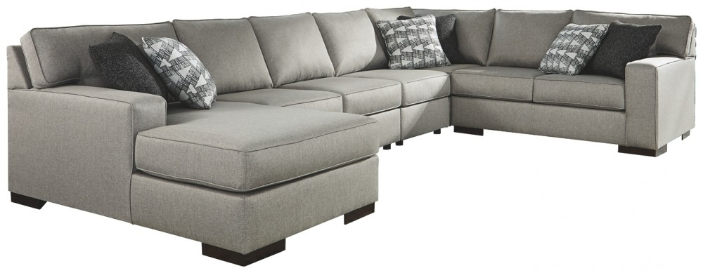 Marsing Nuvella - 5-Piece Sleeper Sectional with Chaise