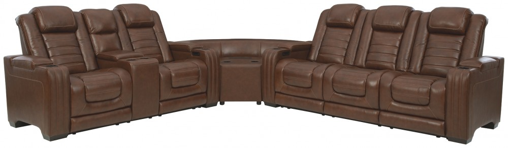 Backtrack - 3-Piece Power Reclining Sectional