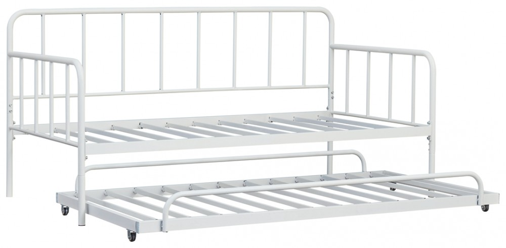 Trentlore - Twin Metal Day Bed with Trundle