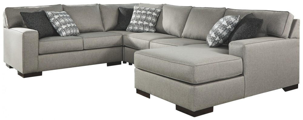 Marsing Nuvella - 4-Piece Sleeper Sectional with Chaise