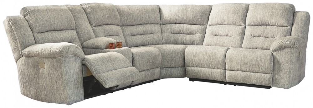Family Den - 3-Piece Power Reclining Sectional