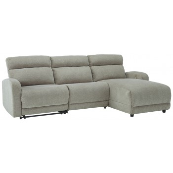 Colleyville - 3-Piece Power Reclining Sectional with Chaise