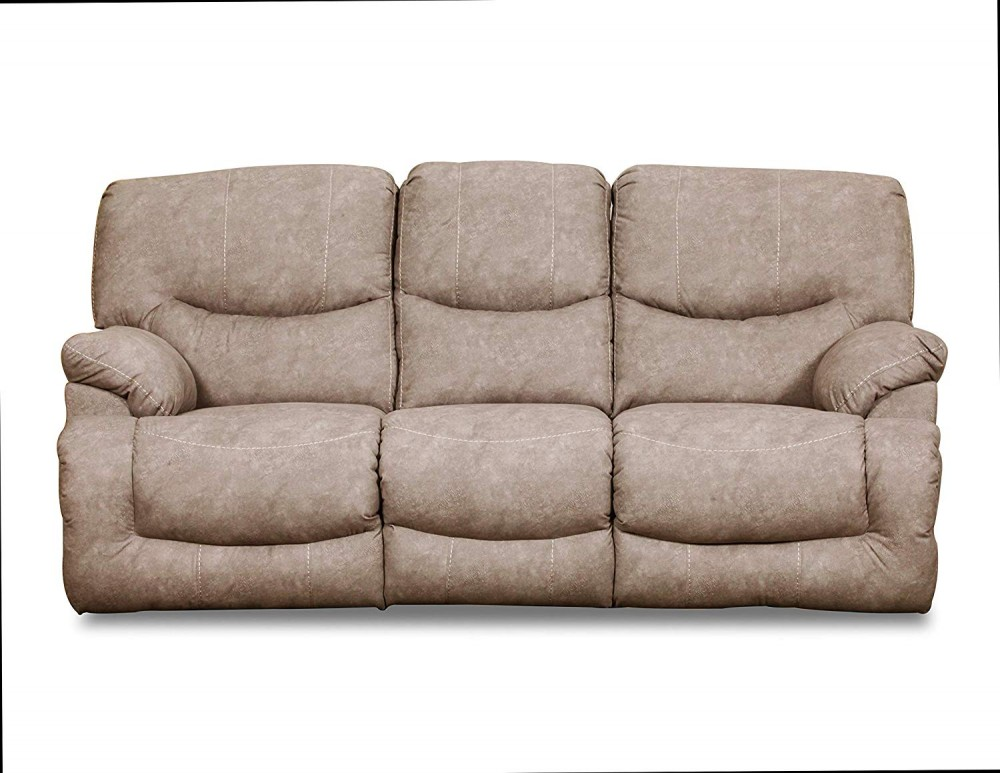 Palermo Shale Double Reclining Sofa