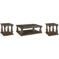 Johnelle - Coffee Table with 2 End Tables