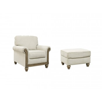 Stoneleigh - Chair and Ottoman