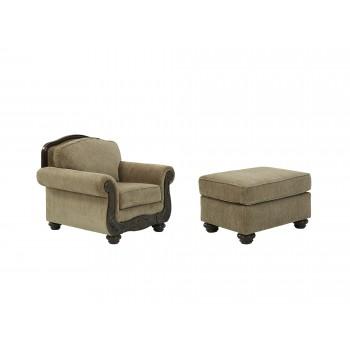 Briaroaks - Chair and Ottoman