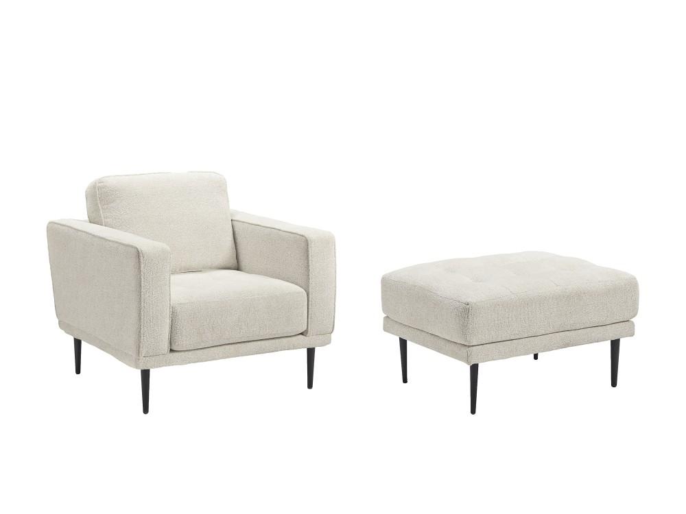 Caladeron - Chair and Ottoman