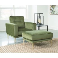 Macleary - Chair and Ottoman