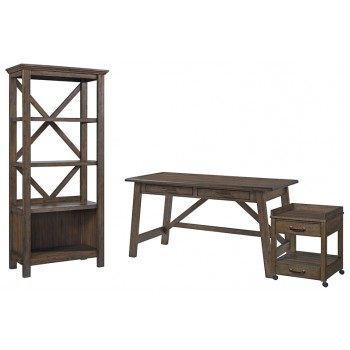 Johurst - Home Office Desk and Storage
