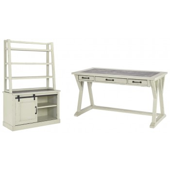 Jonileene - Home Office Desk and Storage