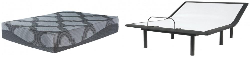 Bonita Springs Firm - Queen Hybrid Mattress with Adjustable Base