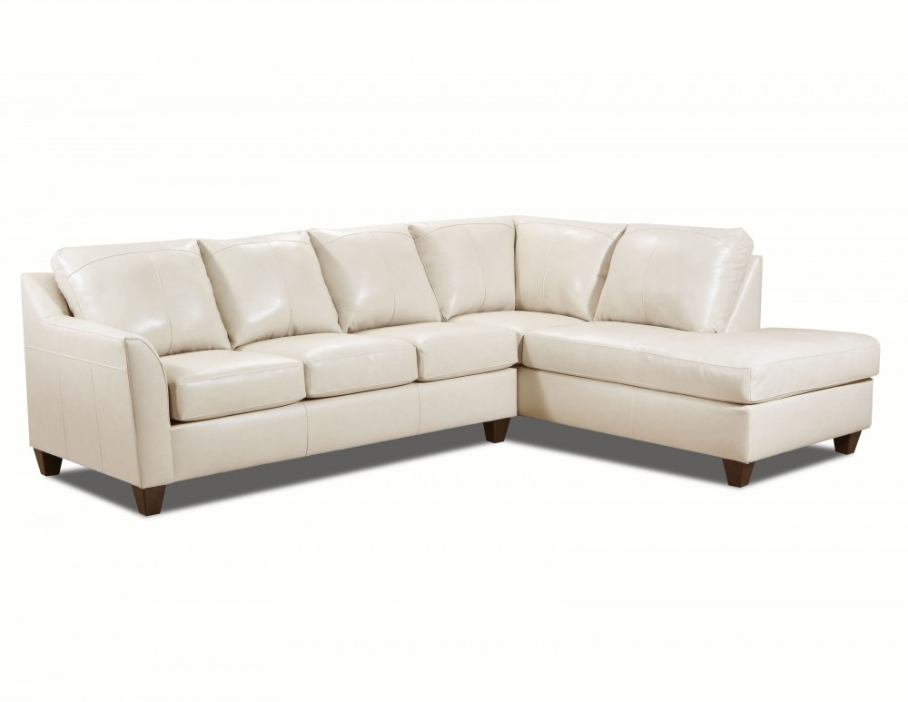 Dundee 2pc Cream Sectional