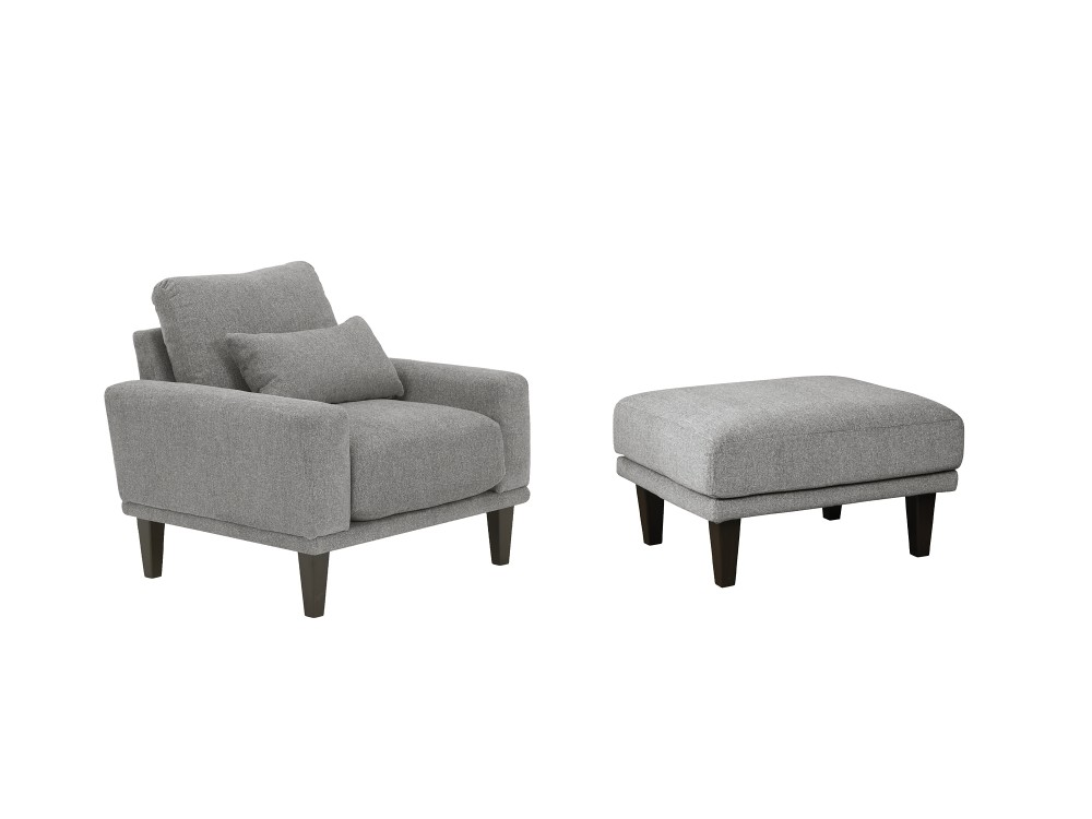 Baneway - Chair and Ottoman