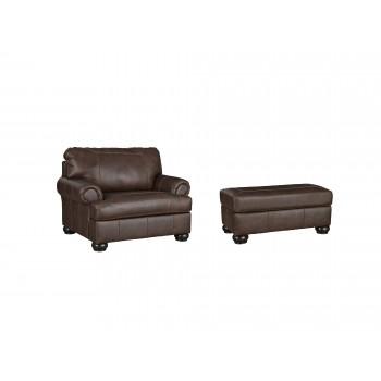 Beamerton - Chair and Ottoman