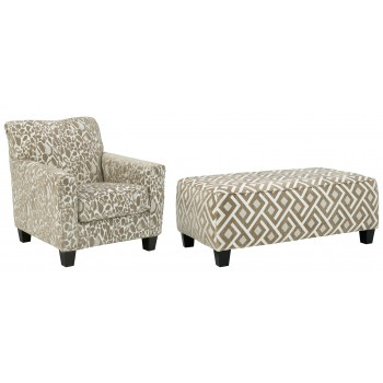 Dovemont - Chair and Ottoman