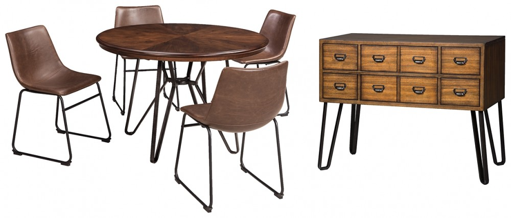 chairs dining room chairs | Centiar - 6-Piece Dining Room Package | D372/15/60/01(4 ...