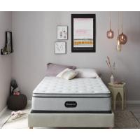 Beautyrest BR800 RS Plush Pillow Top Mattress Set (Queen) (Mattresses - Queen)