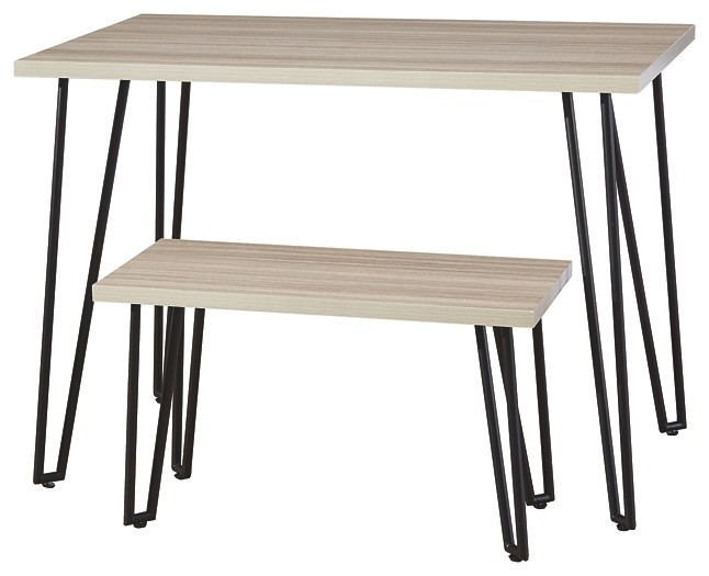 Blariden - Desk w/Bench