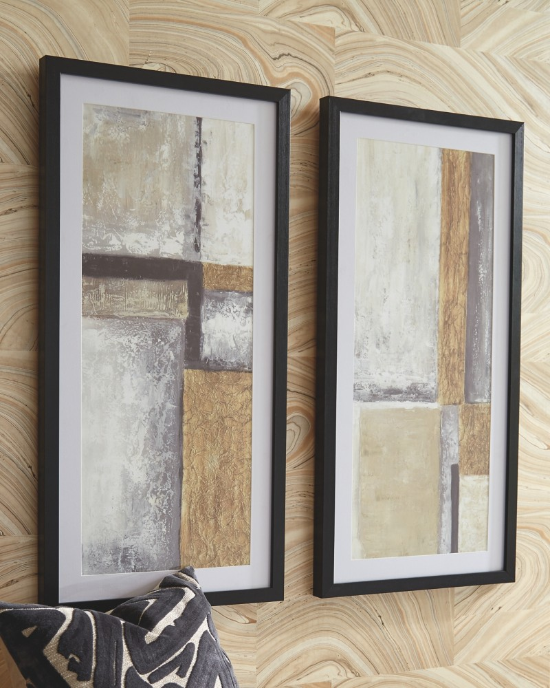 Jaxley - Wall Art Set (2/CN)