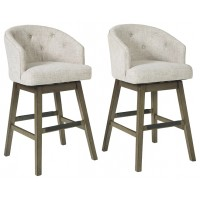Tripton - Tall Swivel Barstool (2/CN)