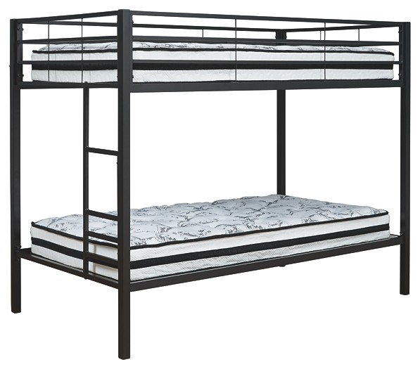 Broshard - Twin/Twin Metal Bunk Bed