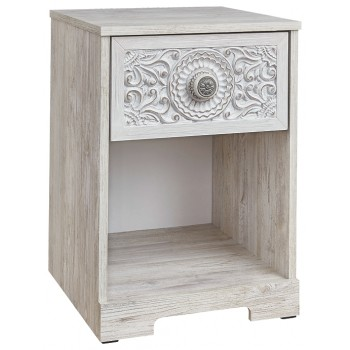 Paxberry - One Drawer Night Stand
