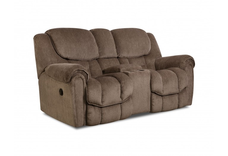 Corral Reclining Rocking Console Loveseat