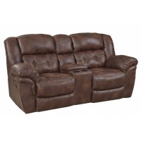 Outlaw Reclining Console Loveseat
