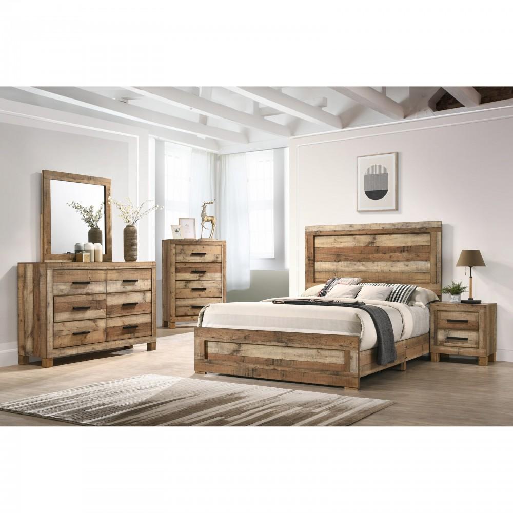 Kivi Dresser, Mirror, Queen Bed