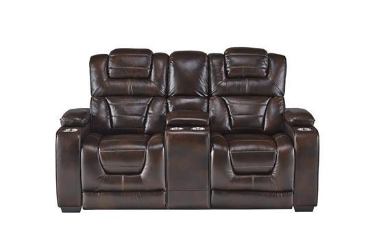 Keaton Leather Loveseat