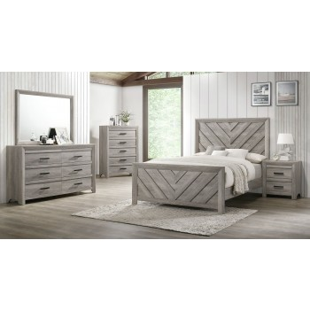 Ellen Queen Bed Dresser Mirror