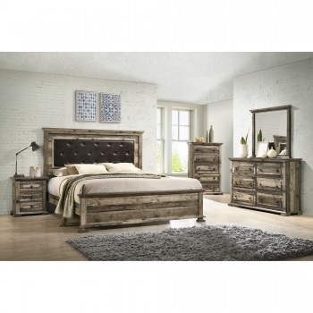 Cortez Queen Bed Dresser Mirror
