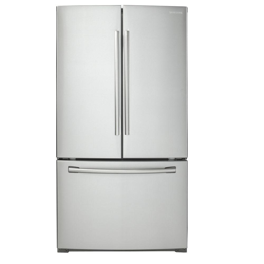 Samsung 25.5 cf French Door Refrigerator in Stainless Steel