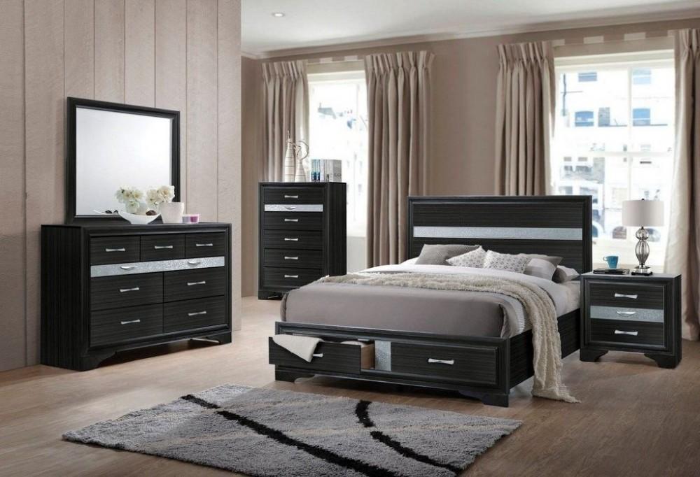 Naima Dresser Mirro Queen Bed