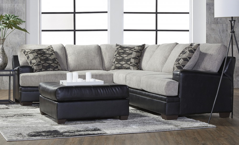 Brooke Collection Two-Tone Sectional