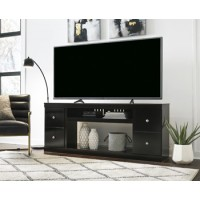 Shay - XL TV Stand w/Fireplace Option