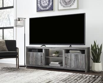 Baystorm - XL TV Stand w/Fireplace Option