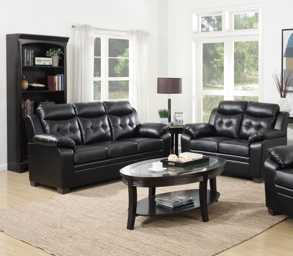Myer Black Sofa Love