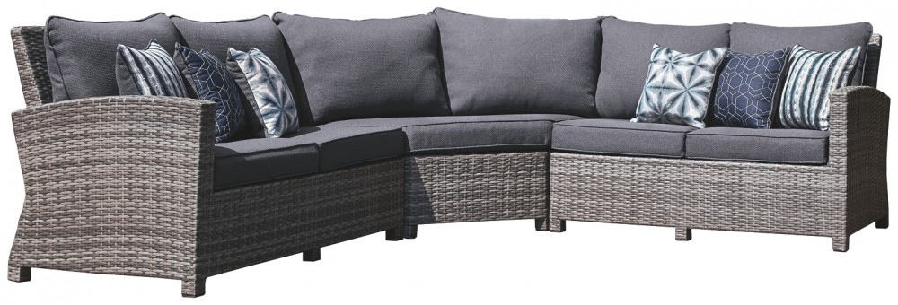 Salem Beach - 3-Piece Outdoor Sectional