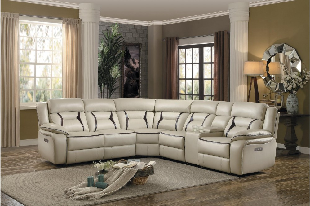 Amite 6 Piece Power Recliner Sectional